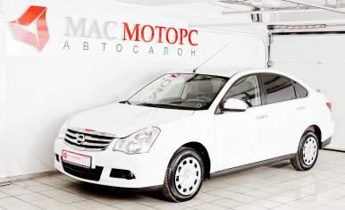 Nissan Almera Белый